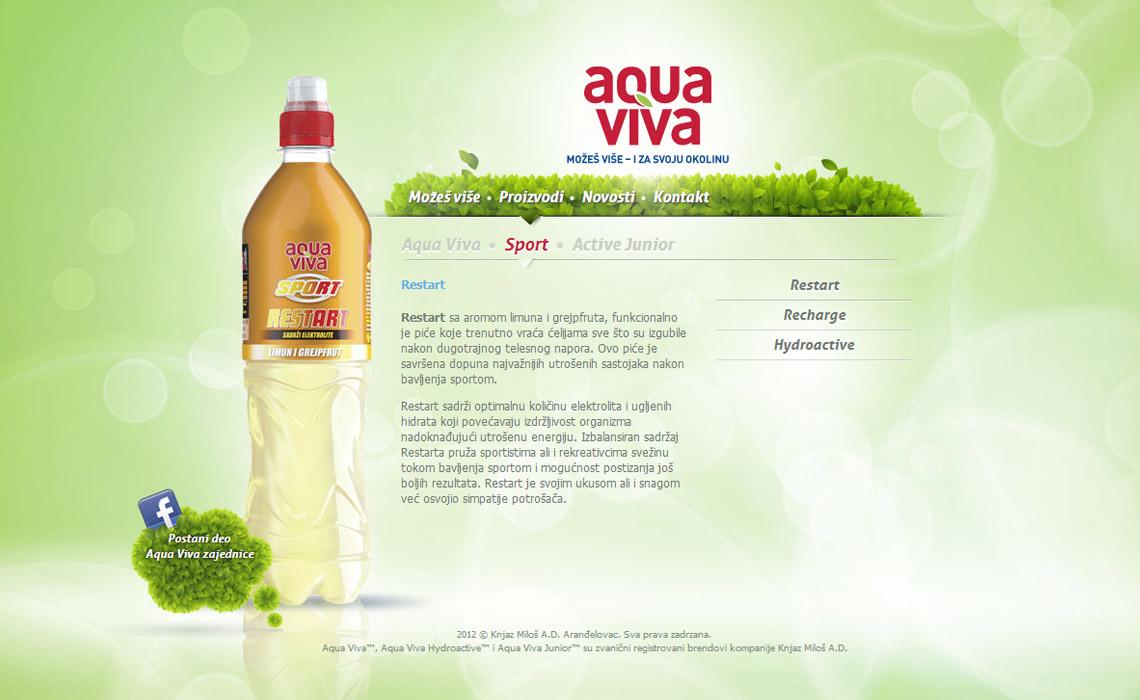 Viva Aqua sm digital portfolio our work
